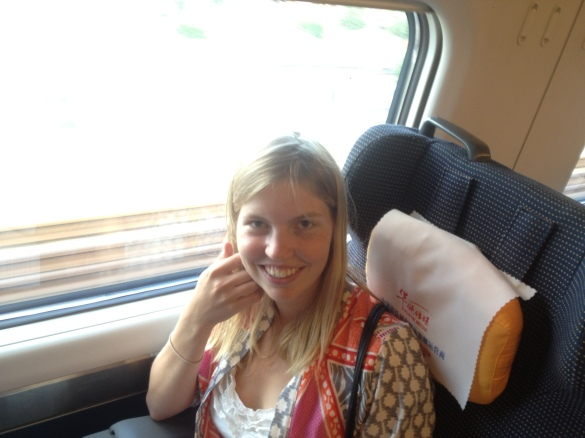 Comfortable and fast train from Wuhan to Xiantao