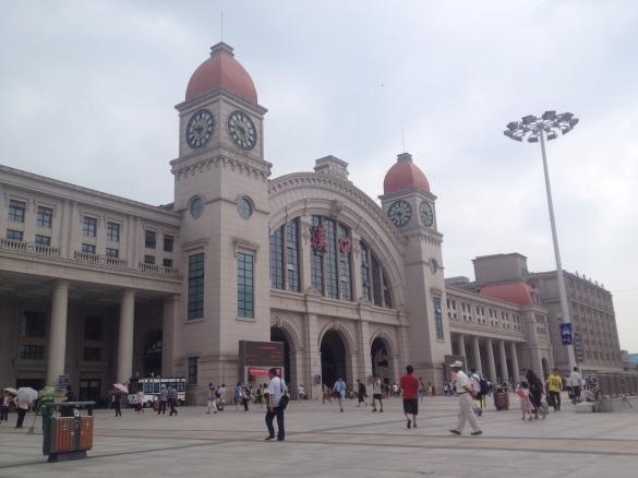 Han Kou Trainstation in Wuhan