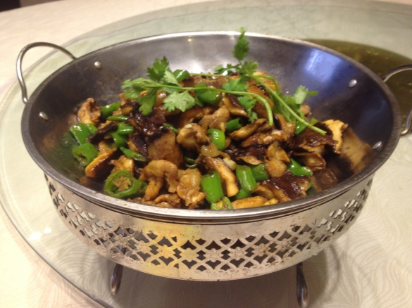 Super yummy mushrooms with garlic, onions and spices
