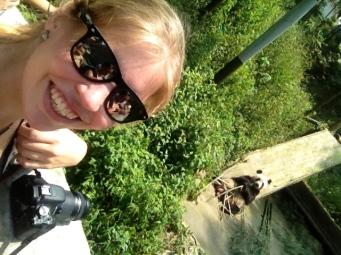 In Bifenxia Panda Base, sooooooooo happpy! :)