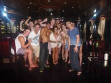 Halong Bay party ppl