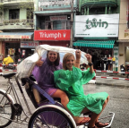 Chilling in Hue with Abbie